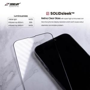 Dán cường lực ZeeLot SOLIDSLEEK trong suốt iPhone 13 Promax